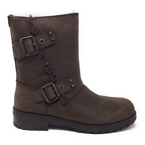 Ugg Australia Niels Stout Leather Boot 9.5M New